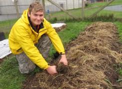 Michael Ferncase, 2017 School Farm Production Apprentice