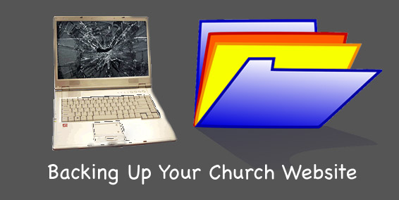 Backing Up Your Church Website