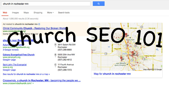 Church SEO Post Cover Graphic