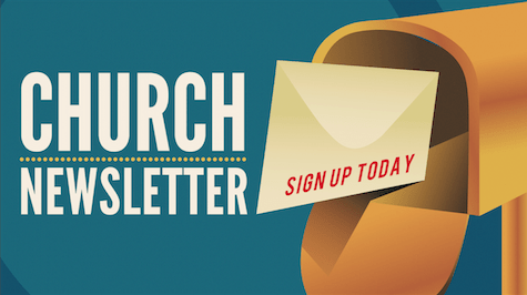 Church Newsletter Graphic