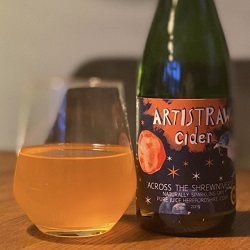 Artistraw Cider – Across the Shrewniverse – Reviewed