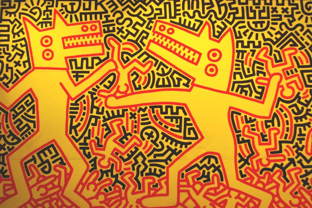 Keith Haring @MAM, Paris (2/6)