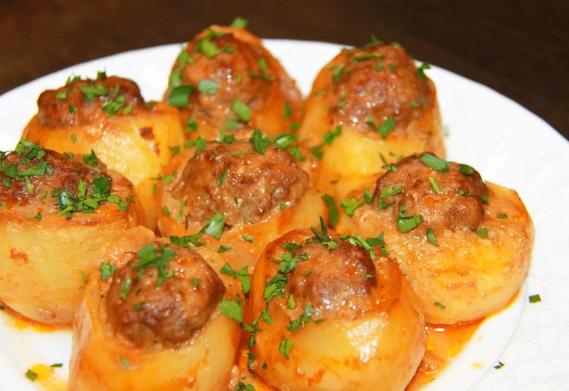 Картофель с фаршем: Вкусный и сытный ужин