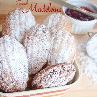 Raspberry Madeleine: The Classic French Cake