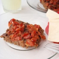 Baked Kofta with Tomato