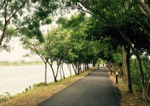 冬山河右岸自行車道