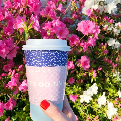 May flowers and coffee