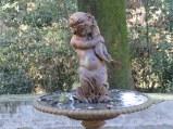 Detail, disused fountain in Villa Ada.