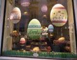 Demel's windows dressed for Easter.