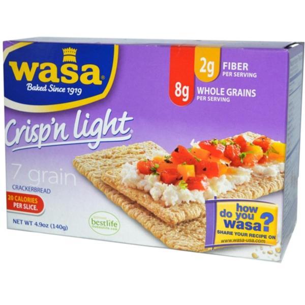Wasa Crispbread - 7 Grain Light Crisp Crackers ( 10 - 4.9 OZ) %count(alt)