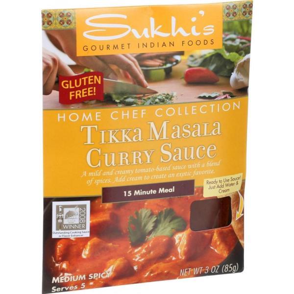 Sukhi's Gourmet Indian Food - Tikka Masala Sauce ( 6 - 3 FZ) %count(alt)