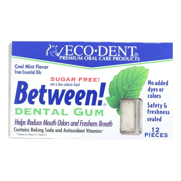 Eco-Dent Between Dental Gum - Mint - Case of 12 - 12 Pack %count(alt)