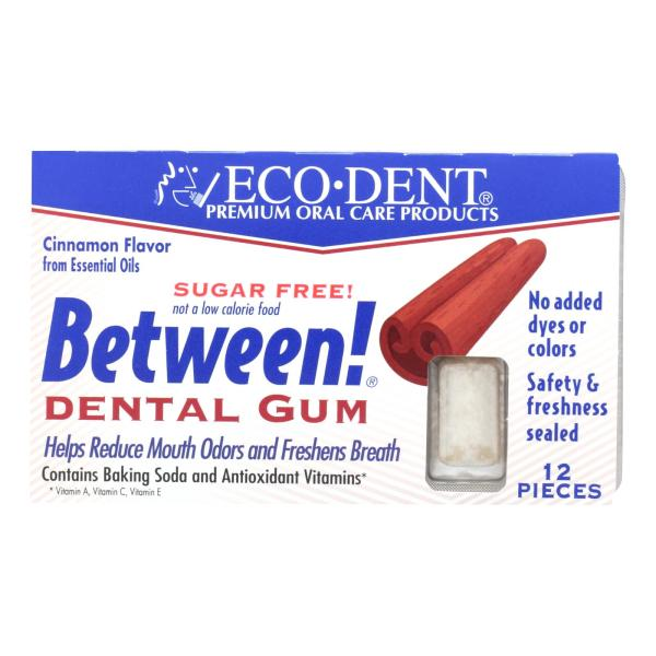 Eco-Dent Between Dental Gum - Cinnamon - Case of 12 - 12 Pack %count(alt)