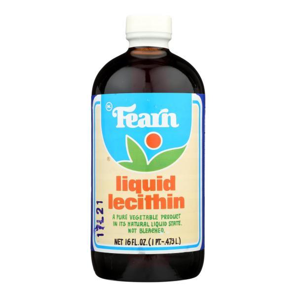 Fearn Liquid Lecithin - 16 fl oz - Case of 12 %count(alt)
