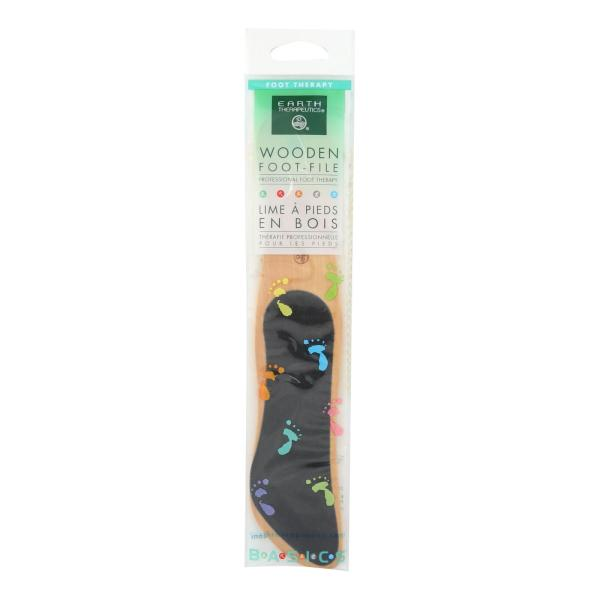 Earth Therapeutics Wooden Foot File - 1 File %count(alt)