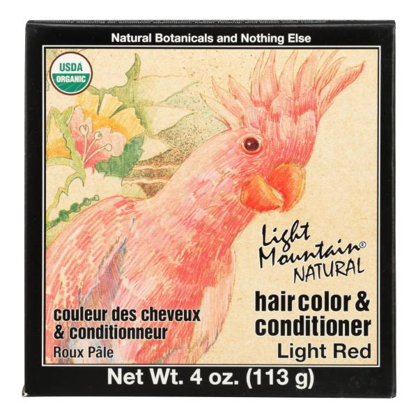 Light Mountain Hair Color - Light Red - Case of 1 - 4 oz. %count(alt)