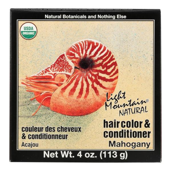 Light Mountain Hair Color - Mahogany - Case of 1 - 4 oz. %count(alt)