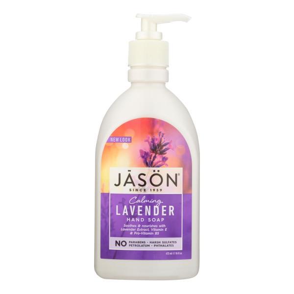 Jason Pure Natural Hand Soap Calming Lavender - 16 fl oz %count(alt)