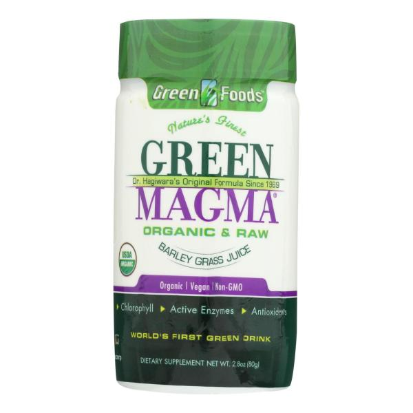 Green Foods Dr Hagiwara Green Magma Barley Grass Juice Powder - 2.8 oz %count(alt)