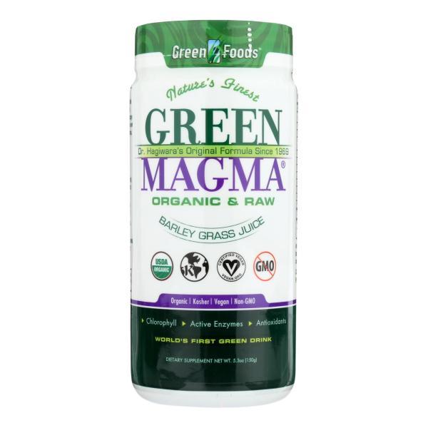 Green Foods Dr Hagiwara Green Magma Barley Grass Juice Powder - 5.3 oz %count(alt)