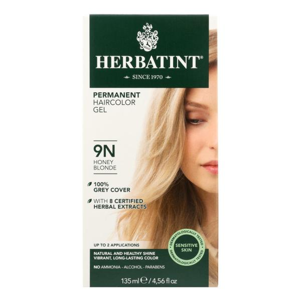 Herbatint Permanent Herbal Haircolour Gel 9N Honey Blonde - 135 ml %count(alt)