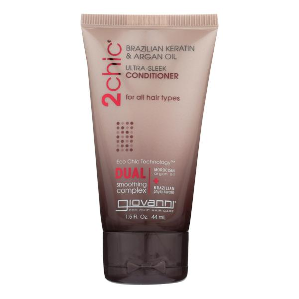 Giovanni Hair Care Products Conditioner - 2Chic Sleek - Travel Size - Case of 12 - 1.5 fl oz %count(alt)