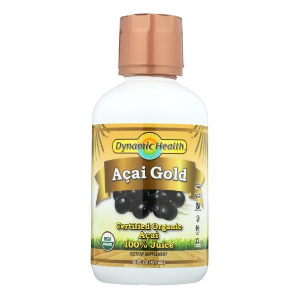 Dynamic Health Organic Acai Gold - 16 fl oz %count(alt)