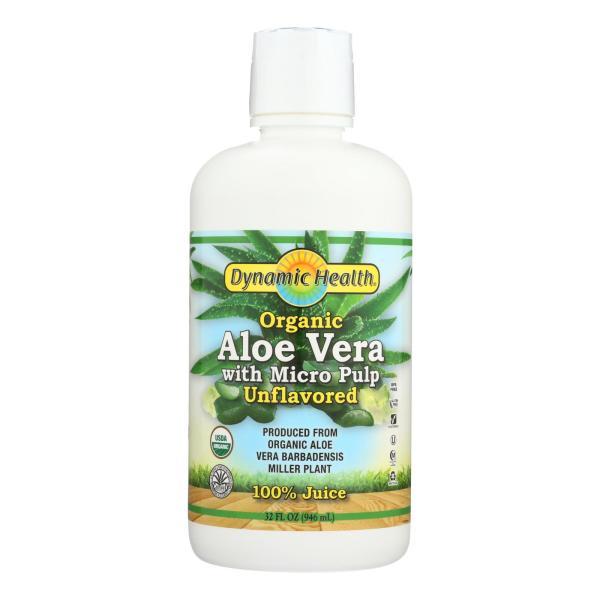Dynamic Health Organic Aloe Vera Juice with Micro Pulp - 32 fl oz %count(alt)