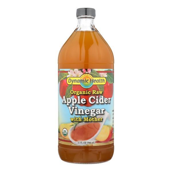 Dynamic Health Apple Cider Vinegar - Organic with Mother - 32 oz %count(alt)