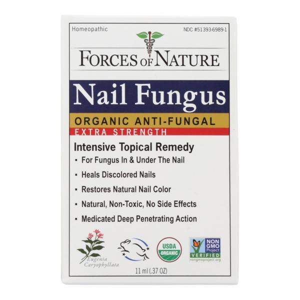 Forces of Nature - Organic Nail Fungus Control - Extra Strength - 11 ml %count(alt)