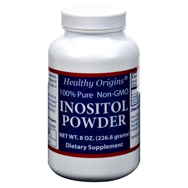 Healthy Origins Inositol Powder - 600 mg - 8 oz %count(alt)
