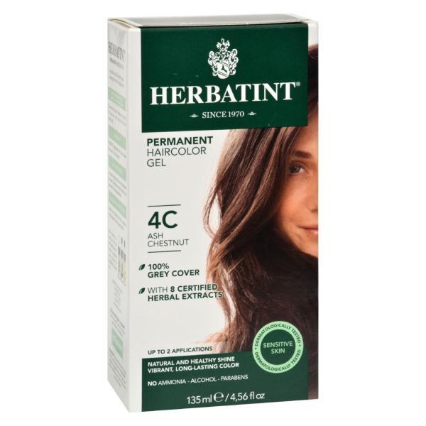 Herbatint Haircolor Kit Ash Chestnut 4C - 4 fl oz %count(alt)