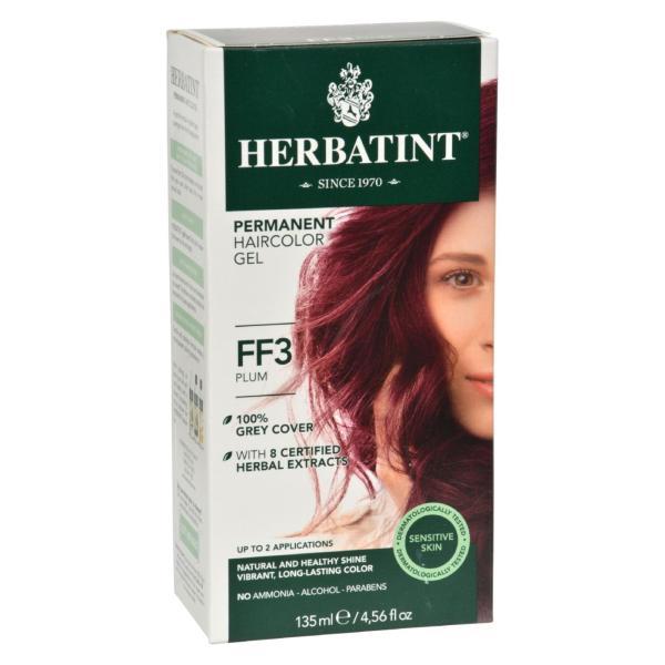 Herbatint Haircolor Kit Flash Fashion Plum FF3 - 1 Kit %count(alt)