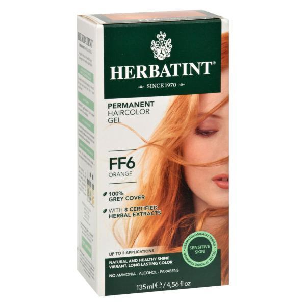 Herbatint Haircolor Kit Flash Fashion Orange FF6 - 1 Kit %count(alt)