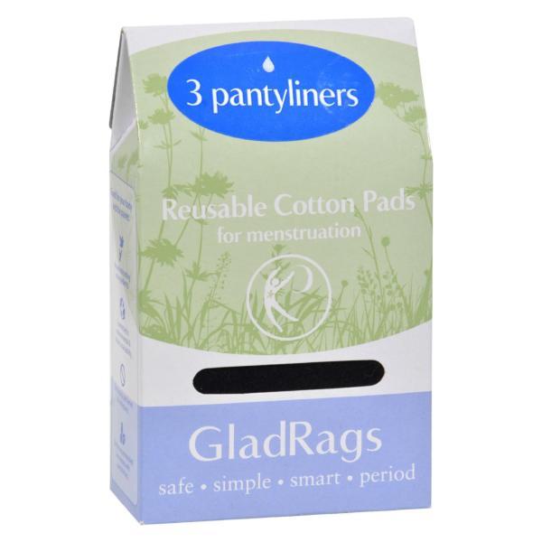 Gladrags Color Pantyliner Regular Cotton - 3 Pack %count(alt)