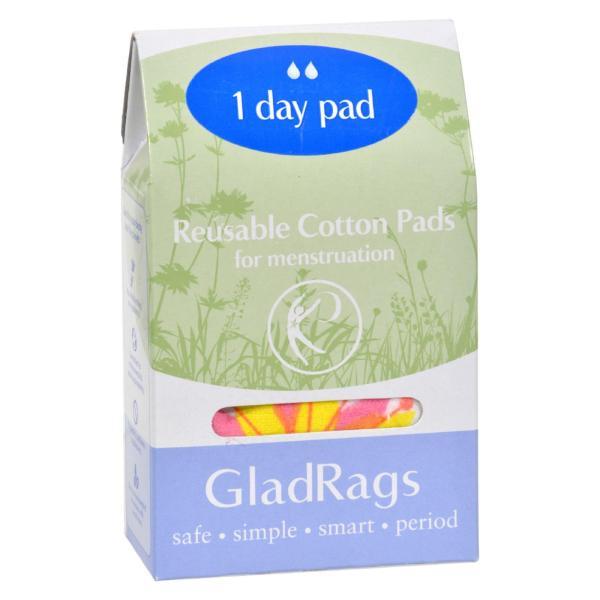 Gladrags Color Cotton Day Pad - 1 Pack %count(alt)
