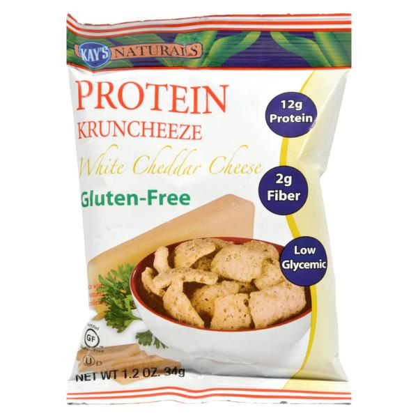 Kay's Naturals Better Balance Kruncheeze White Cheddar Cheese - 1.2 oz - Case of 6 %count(alt)