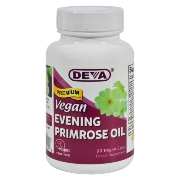 Deva Vegan Vitamins - Evening Primrose Oil - 90 Vegan Capsules %count(alt)