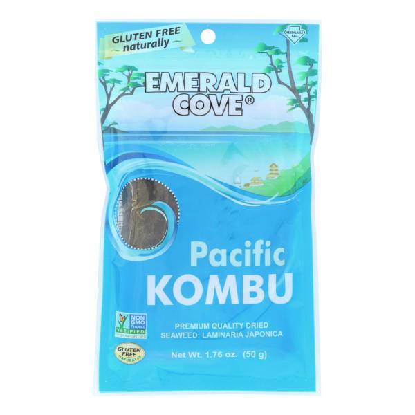 Emerald Cove Sea Vegetables - Pacific Kombu - Silver Grade - 1.76 oz - Case of 6 %count(alt)