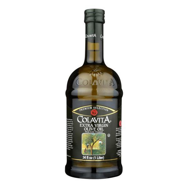 Colavita - Premium Extra Virgin Olive Oil - Case of 6 - 33.8 Fl oz. %count(alt)
