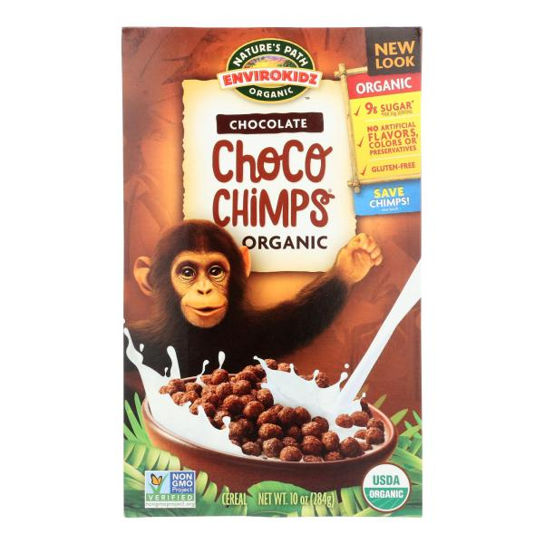 Envirokidz - Organic Cereal - Choco Chimps - Case of 12 - 10 oz. %count(alt)