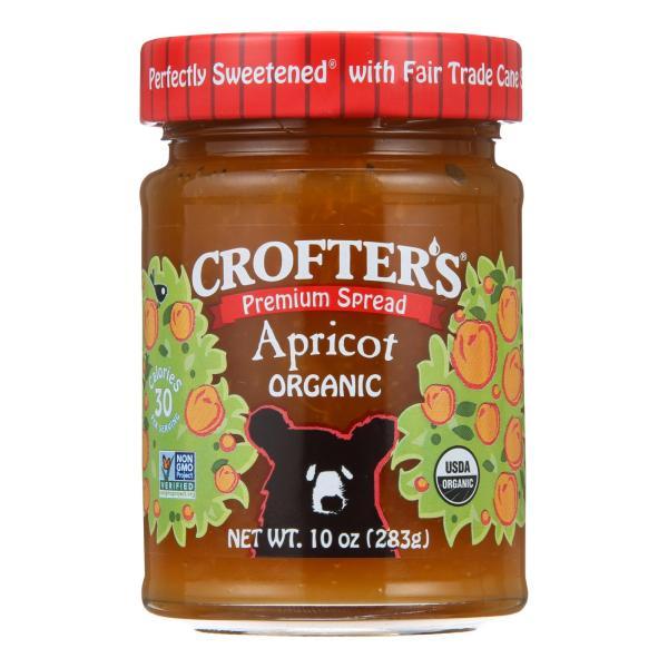Crofters Fruit Spread - Organic - Premium - Apricot - 10 oz - case of 6 %count(alt)