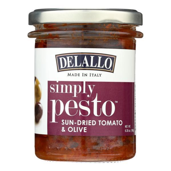 Delallo - Pasta Sauce - Sun-Dried Tomato & Olive - Case of 6 - 6.35 oz. %count(alt)