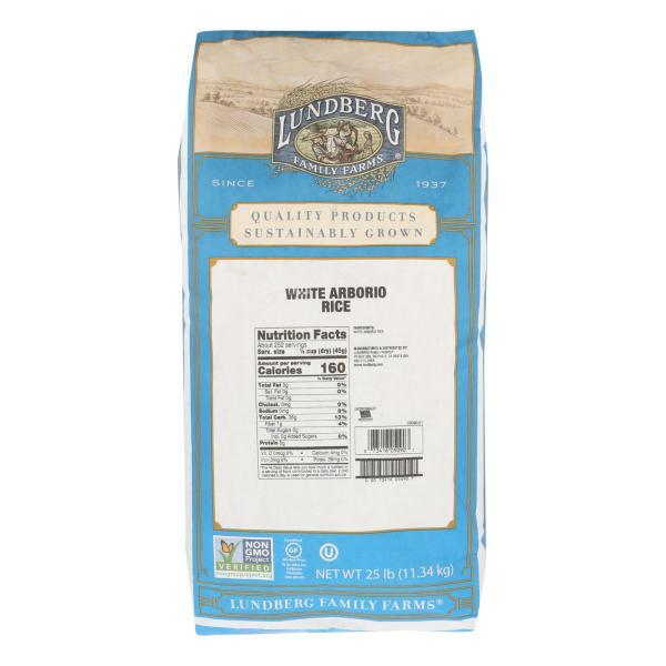 Lundberg Family Farms - Rice - White Arborio - Case of 25 - lb. %count(alt)
