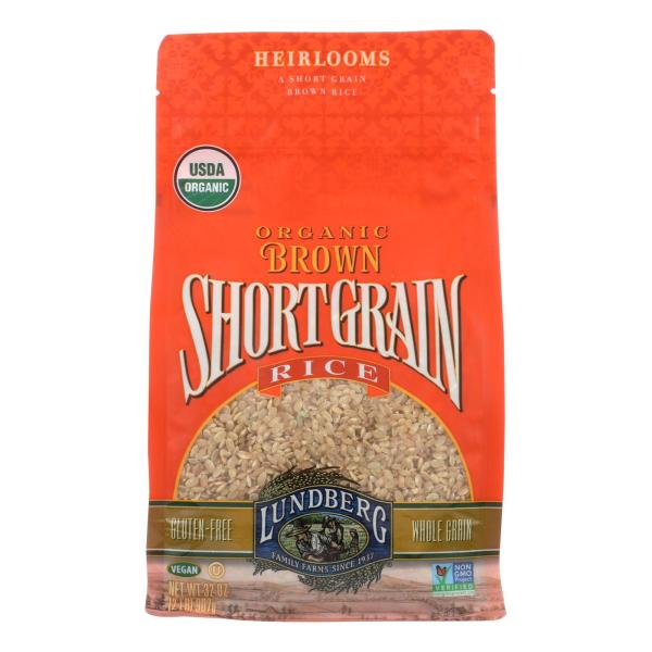 Lundberg Family Farms Organic Short Grain Brown Rice - Case of 6 - 2 lb. %count(alt)