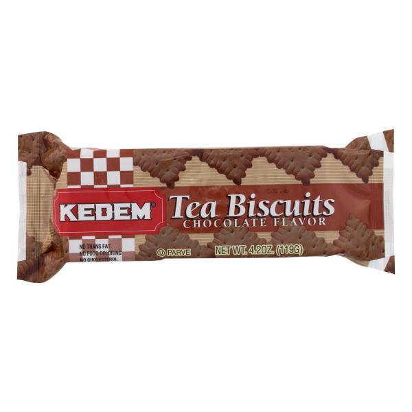 Kedem Tea Biscuits - Chocolate - Case of 24 - 4.2 oz. %count(alt)