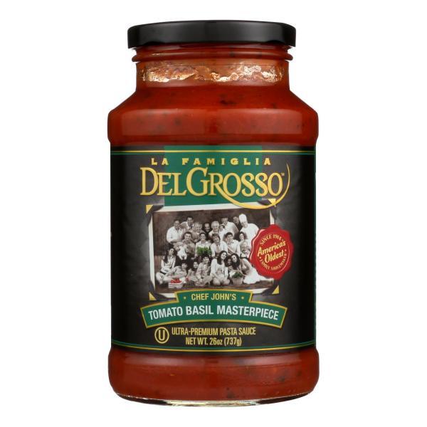 La Famiglia Red Pasta Sauce - Tomato Basil Masterpiece - Case of 6 - 26 oz. %count(alt)