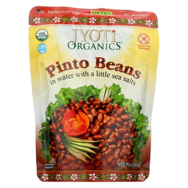 Jyoti Cuisine India Pinto Beans - Case of 6 - 10 oz. %count(alt)