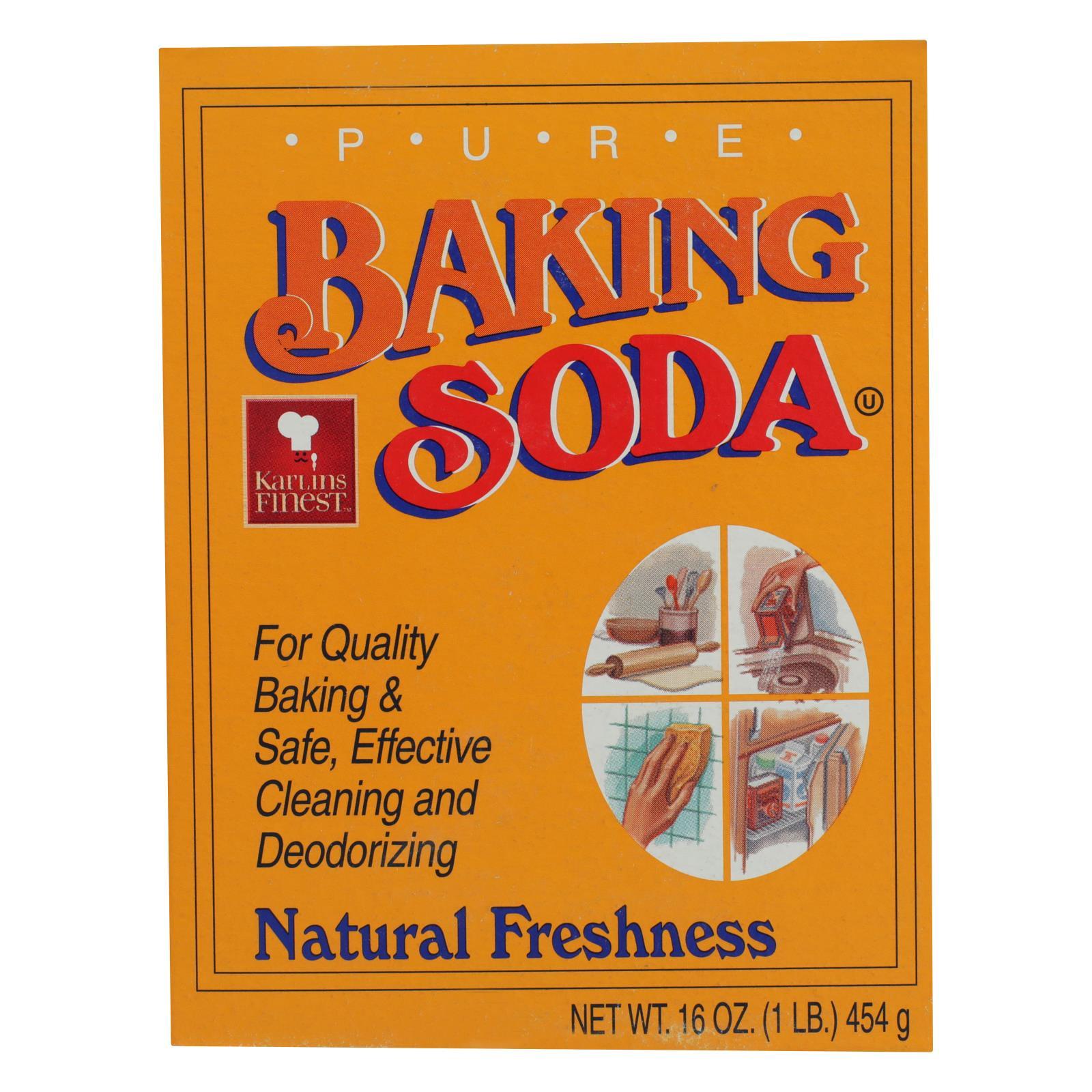 Karlin Food - Baking Soda - Case of 24 - 16 OZ %count(alt)
