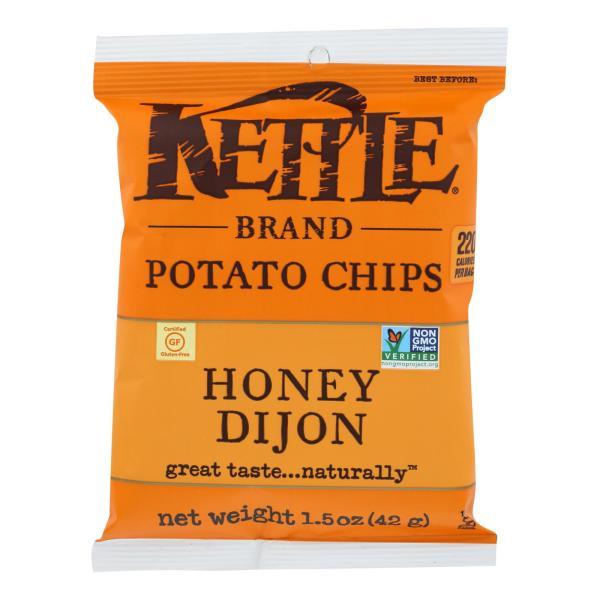 Kettle Brand Potato Chips - Honey Dijon - Case of 24 - 1.5 oz. %count(alt)